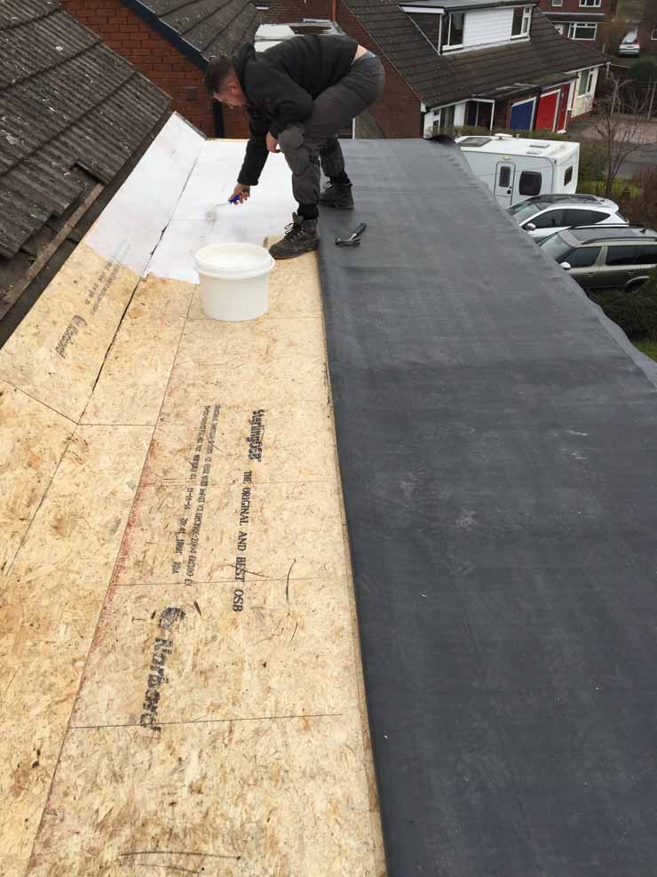 Flat Roof Services In Cheshire